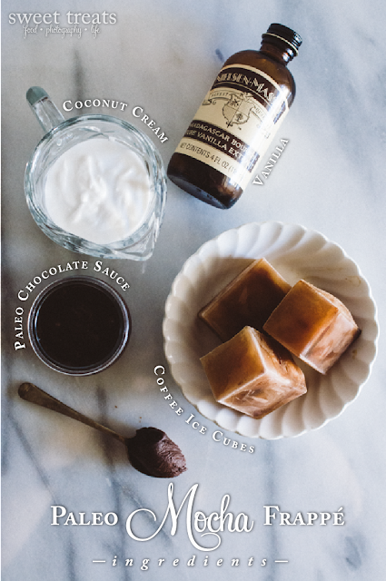 Paleo Mocha Frappe Ingredients