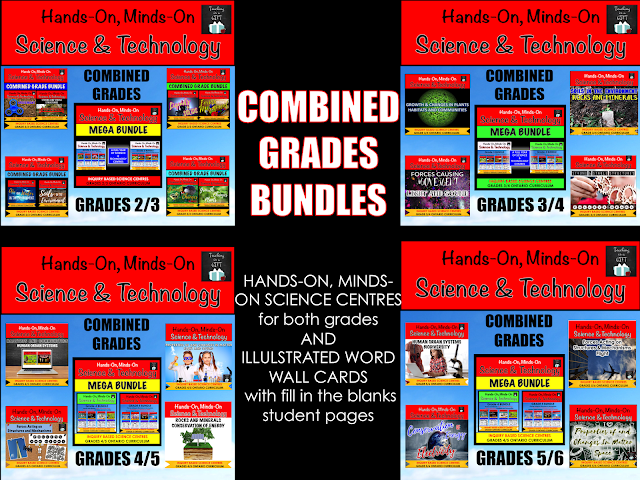 Picture of Combined Grade Science and Technology Bundles Ontario Science