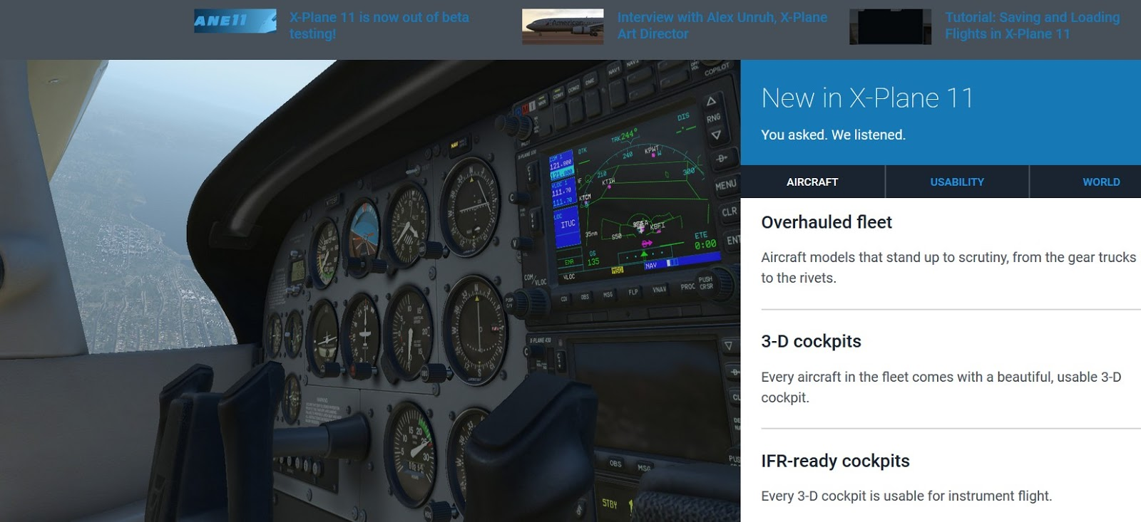 South West Flight Simulation: ! XP11 !