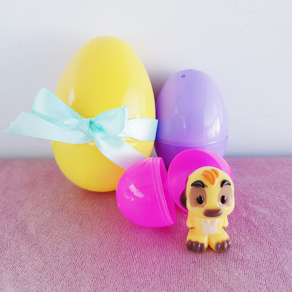 Make collectable toy surprise easter egg gifts for the kids now i brought the plastic eggs and toys from big w australia i liked the variety of plastic egg sizes in the one packet once you have your toys inside negle Choice Image