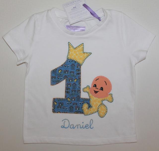 camiseta de cumpleaños 1 año cuquin