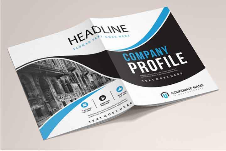 Layanan Cetak Company profile di Subang