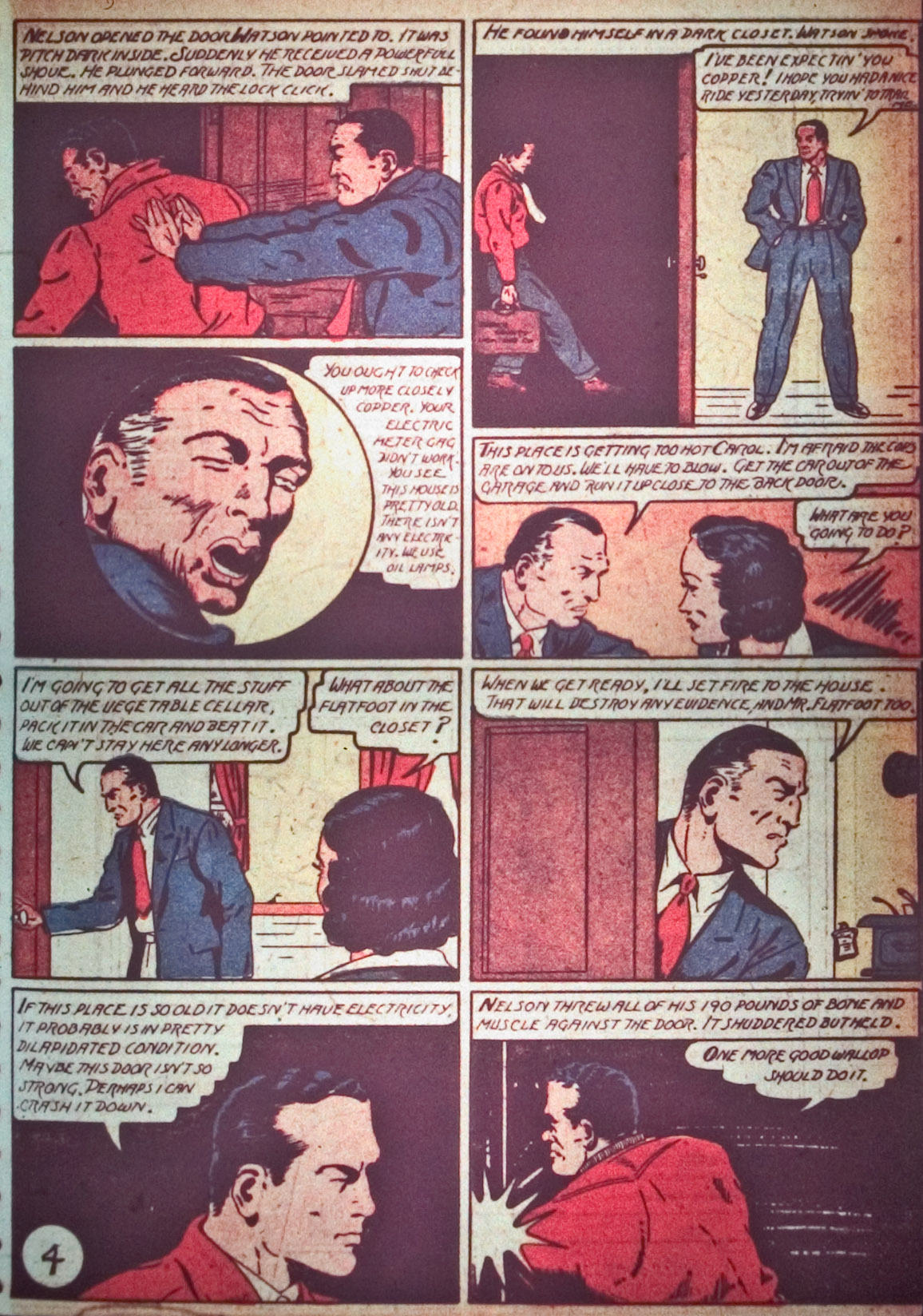 Read online Detective Comics (1937) comic -  Issue #26 - 25