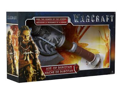TOYS : JUGUETES - WARCRAFT  Hacha de Durotan  Película Warcraft El Origen 2016 | A partir de 6 años  Comprar en Amazon España & buy Amazon USA