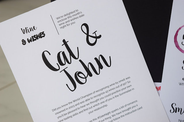 What Cat & John Did | Date Night Box - Wine & Wishes