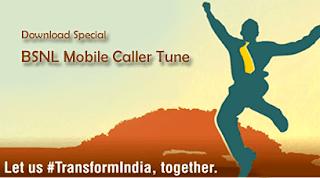 Transforming India BSNL Caller Tune