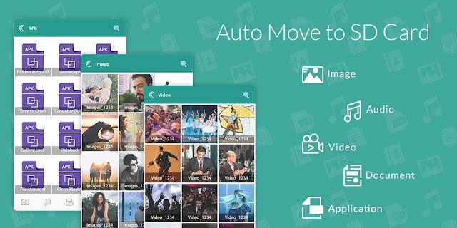 تحميل تطبيق Auto Move To SD Card لنقل الملفات من الهاتف إلى بطاقة الذاكرة تلقائيا للاندرويد