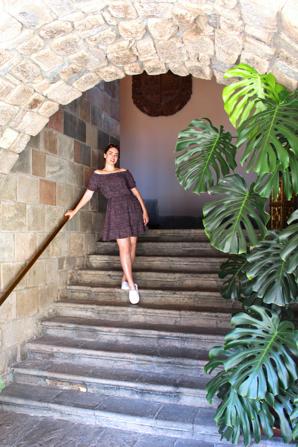 Blogger Emma Louise Layla at Palacio del Inka, Cusco, Peru - lifestyle & travel blog