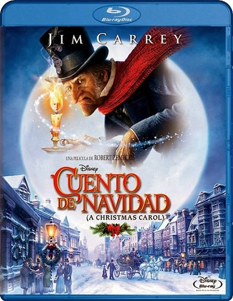 A Christmas Carol (Cuento de Navidad) (2009) 1080p BluRay REMUX 19GB mkv Dual Audio DTS-HD 5.1 ch