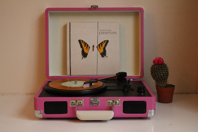 Crosley vinyl Player Paramore