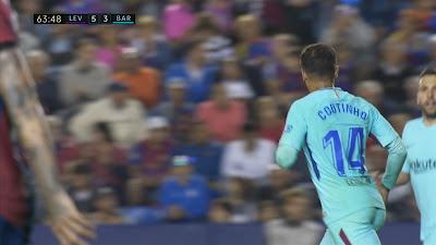 LFP-Week-37 Levante 5 vs 4 Barcelona 13-05-2018