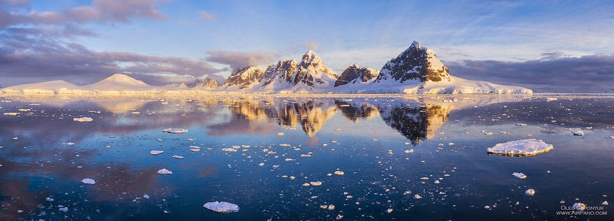 The coldest continent - Cold Yet Beautiful Photos Of Antarctica Taken By AirPano