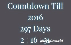 How to Add a Birth Day / New Year Countdown Widget to Blog