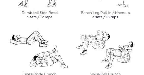 bodybuilding figurines: Printable Workout for Bodybuilders