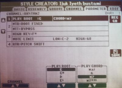 Merubah Nada Dasar Style Yamaha PSR Selain C Menjadi Nada Dasar C