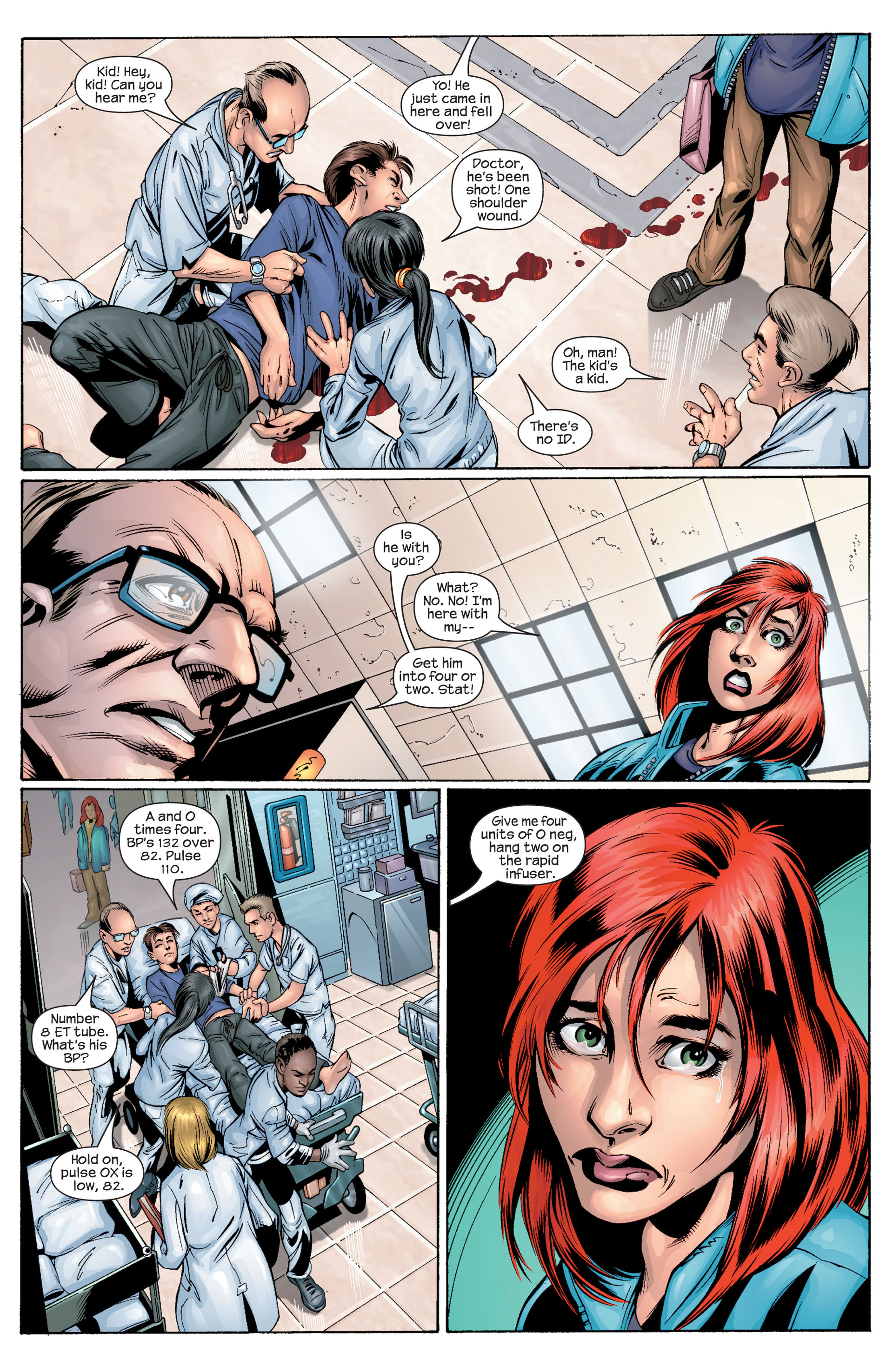 Read online Ultimate Spider-Man (2000) comic -  Issue #30 - 14