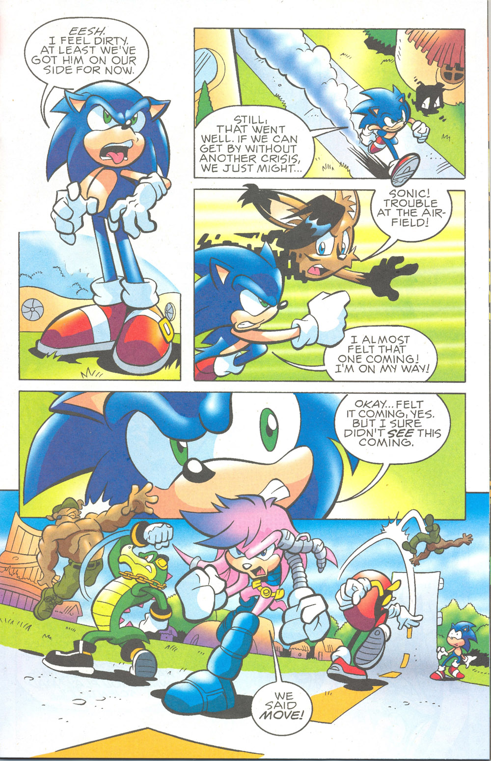 Read online Sonic The Hedgehog comic -  Issue #180 - 10