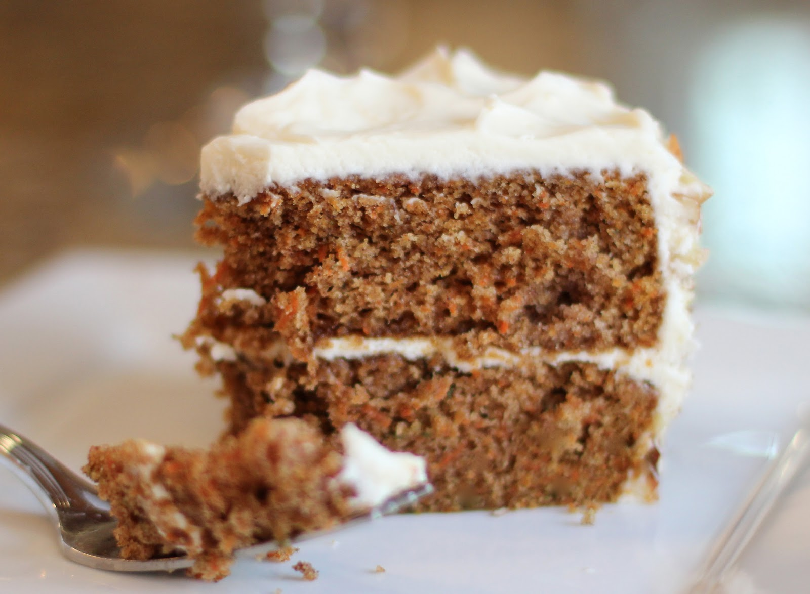 carrot cake with cream cheese frosting party!