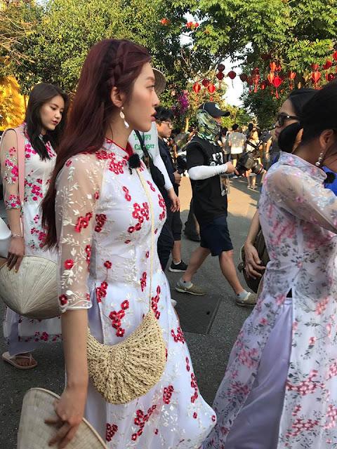 AOA Cream đến Đà Nẵng, Hội An ghi hình show thực tế