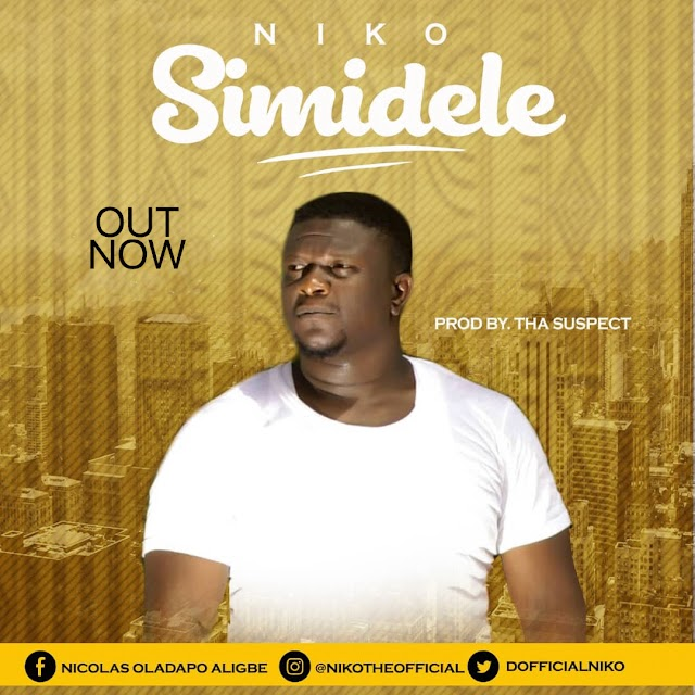 "Niko offers up a brand new single ""simidele"" (Prod. by Tha Suspect) 