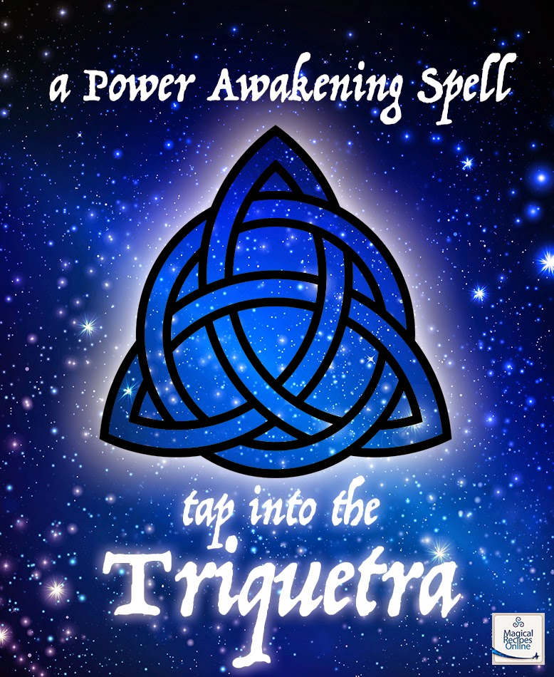 magic of triquetra charmed power of three spell