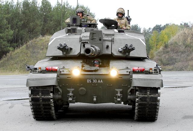 British Challenger 2 main battle tank pic