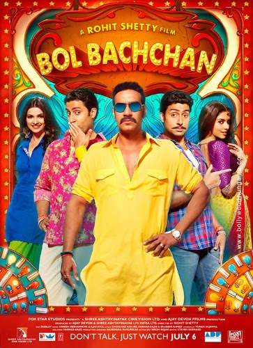 Bol Bachchan 2012 Hindi Movie Download 480p BrRip 400MB