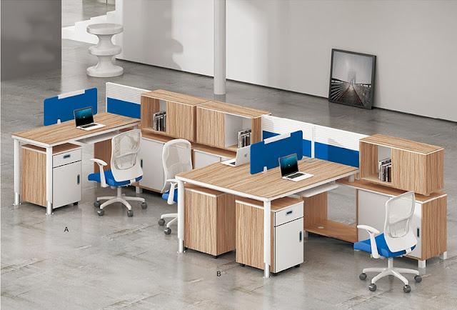 Thiết kế văn phòng hiện đại nâng cao hiệu suất công việc - H1
