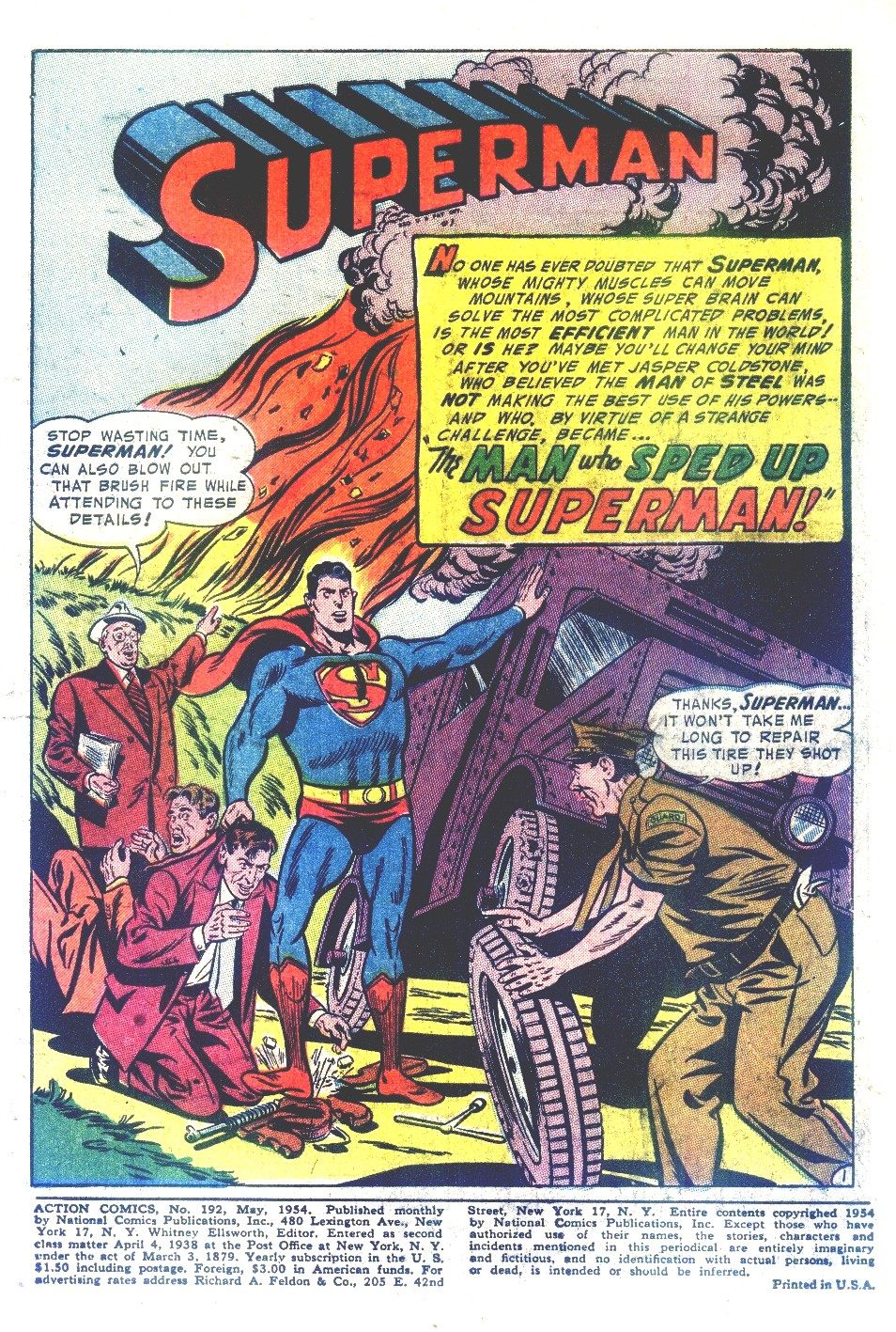 Read online Action Comics (1938) comic -  Issue #192 - 3