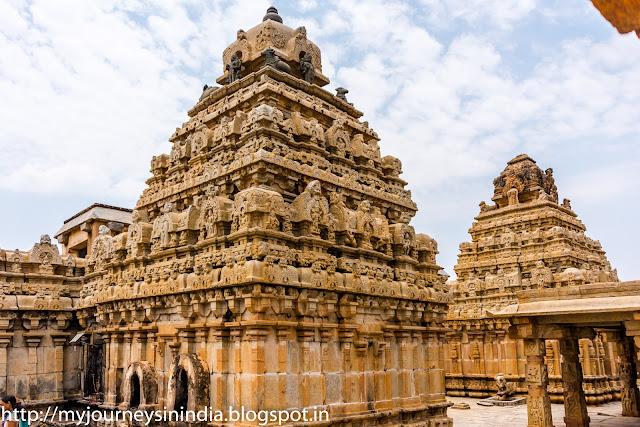 Bhogha Nandeeshwara Temple Tower