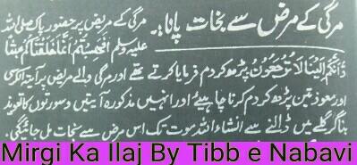 Mirgi ka tibb e nabvi se ilaj_mirgi treatment in quraan