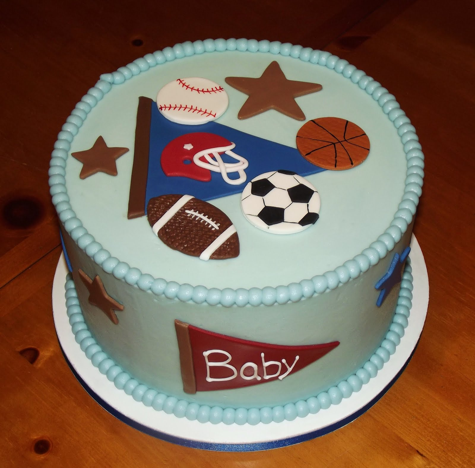 Suzy's Sweet Shoppe: Sports Themed Baby Shower