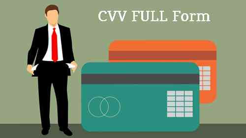 CVV क्या है? CVV full form in Hindi