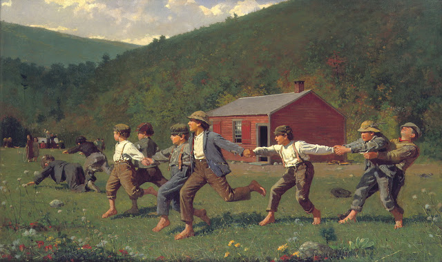 Winslow Homer - El látigo - 1872