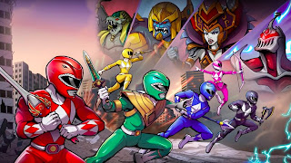 Mighty Morphin Power Rangers Mega Battle PS4 Wallpaper