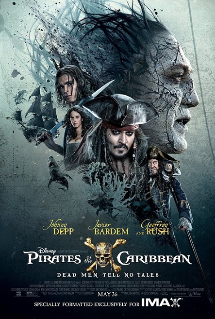 Pirates of the Caribbean: Dead Men Tell No Tales (Piratas del Caribe: La venganza de Salazar) (2017) 720p y 1080p WEBRip mkv AC3 5.1 ch subs español
