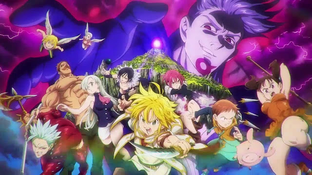 The Seven Deadly Sins Movie: Prisoners of the Sky