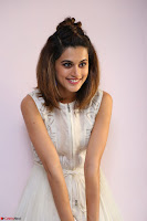 Taapsee Pannu in cream Sleeveless Kurti and Leggings at interview about Anando hma ~  Exclusive Celebrities Galleries 061.JPG