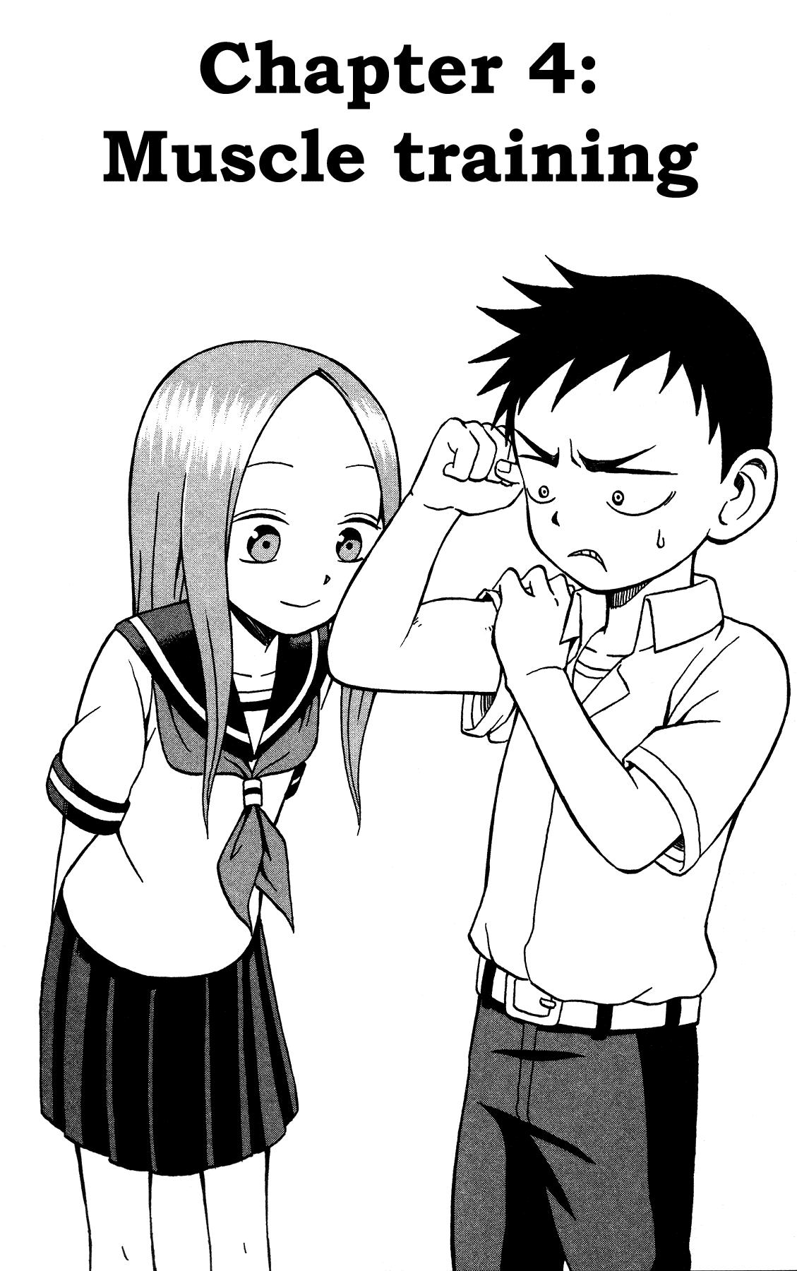 Karakai Jouzu no Takagi-san - Chapter 4