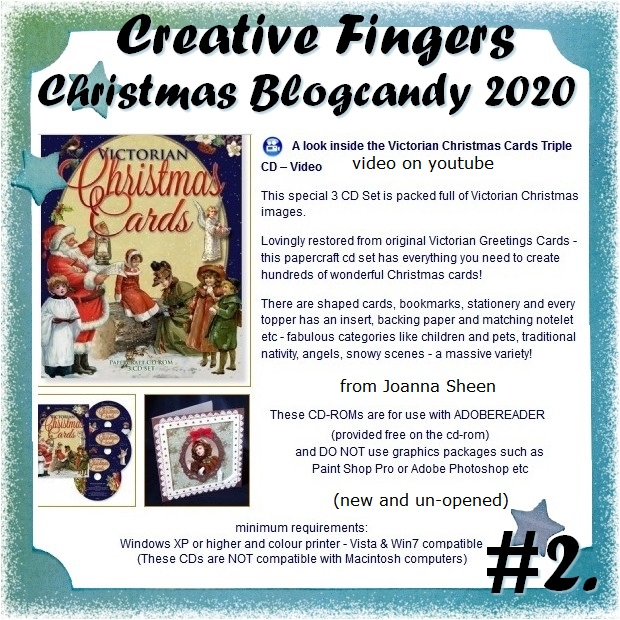 Creat20ve Fingers blogcandy 2020