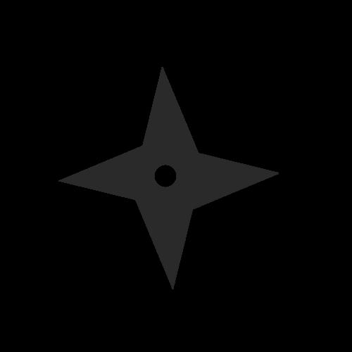 Cara Membuat Shuriken Berputar Dengan PhotoShop