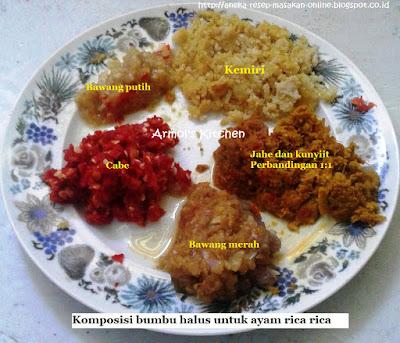 Ayam rica rica Manado