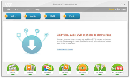 FREEMAKE VIDEO CONVERTER 3.1.2 TÉLÉCHARGER