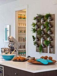 Nueva tendencia decorativa, jardines verticales interiores