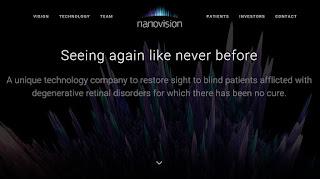 Nanovision Biosciences Develop Innovative Retinal Prosthesis To Restore Sight