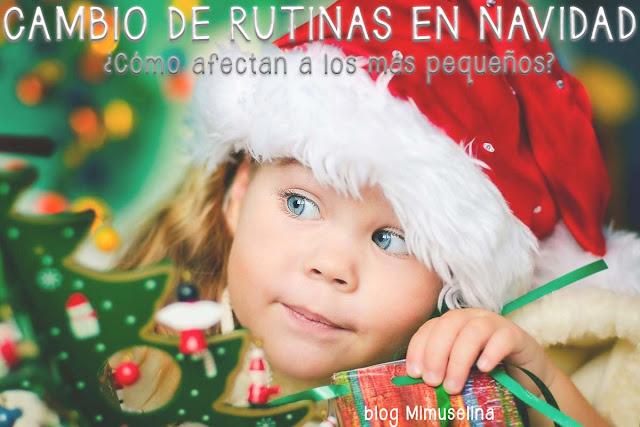 rutinas navidad bebés, cambios rutinas bebé en Navidad, blog mimuselina