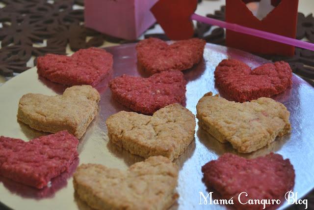 galletas corazon san valentin
