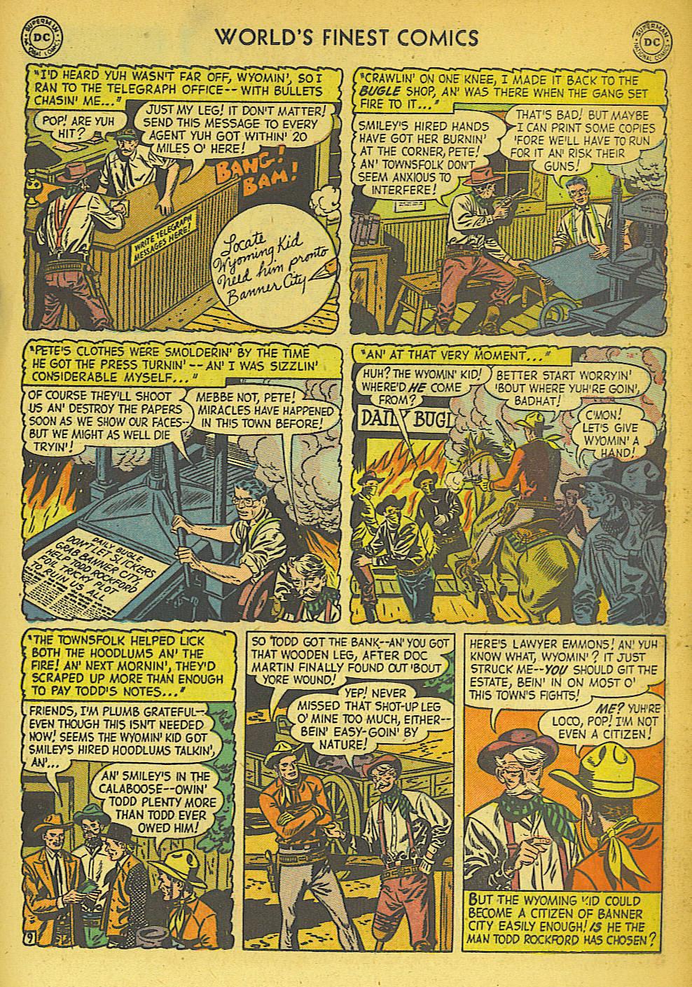 Read online World's Finest Comics comic -  Issue #57 - 37