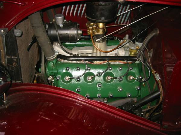 1934 Ford Deluxe Motor
