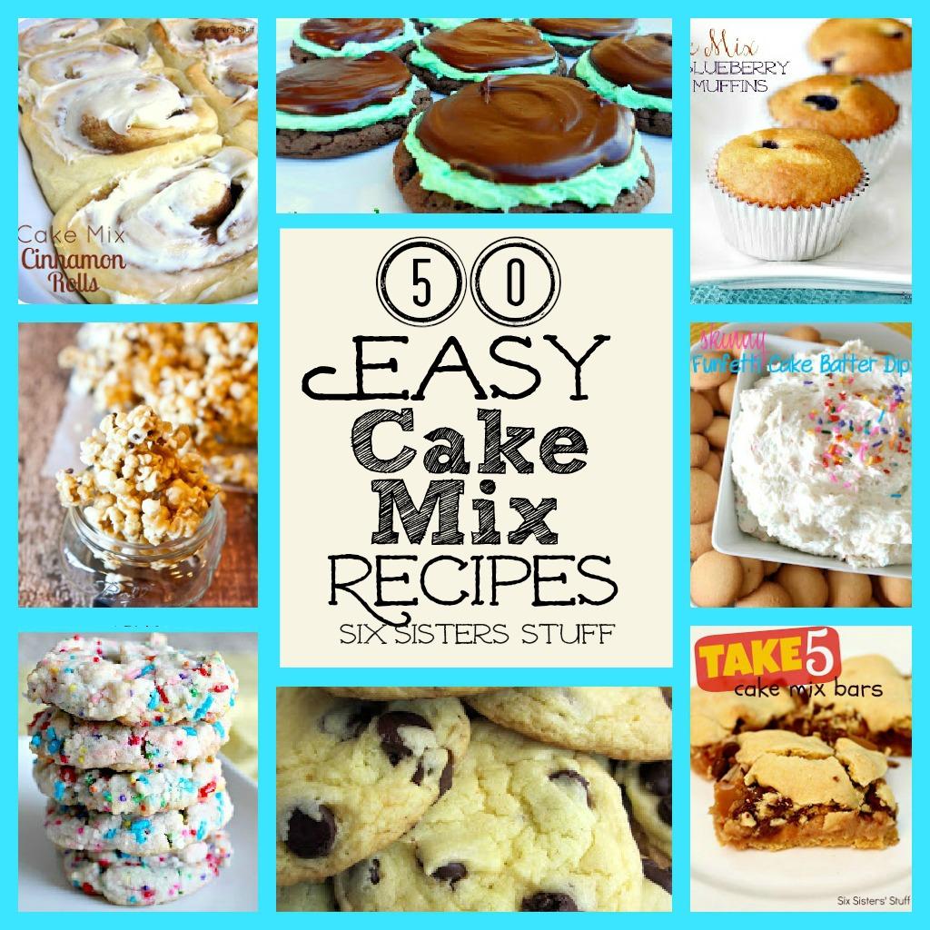 50 Easy Cake Mix Recipes Six Sisters Stuff